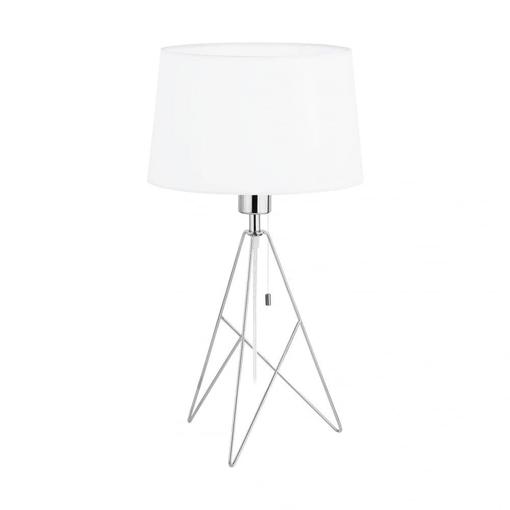 Charmant Eglo 39181 Camporale 1 Light Table Lamp Chrome