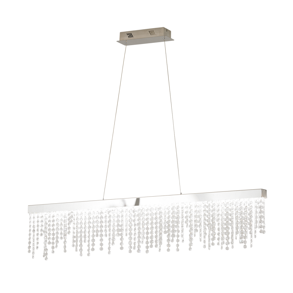 Eglo antelao 39284 led suspended ceiling light eglo 39284 antelao 1 light ceiling light polished chrome aloadofball Images