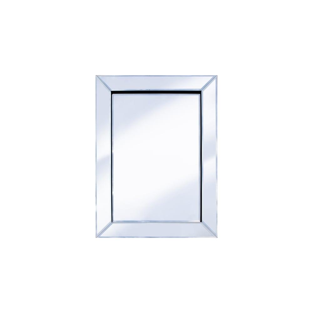 Pharmore 60cm x 80cm mitre edge mirror for Mirror 80 x 60