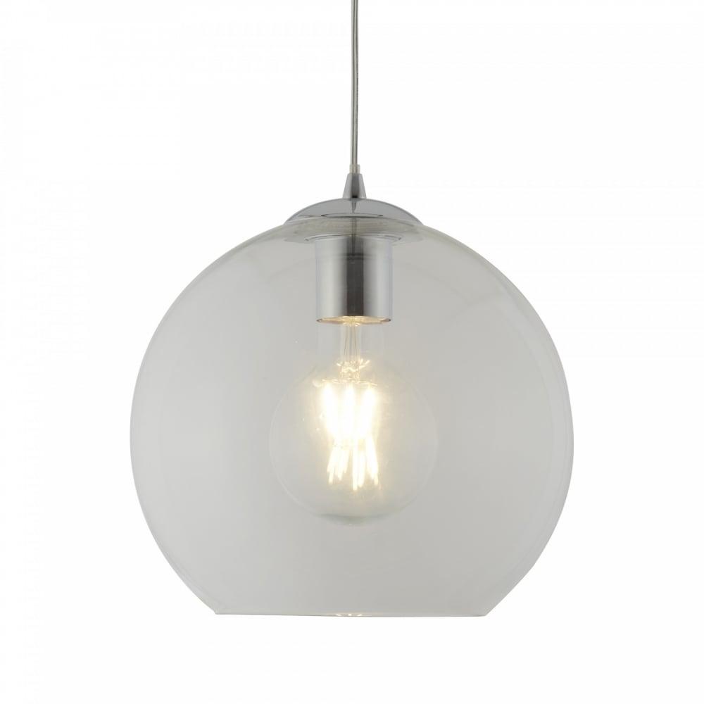 Searchlight 1621CL Balls 1 Light Ceiling Pendant Chrome ...