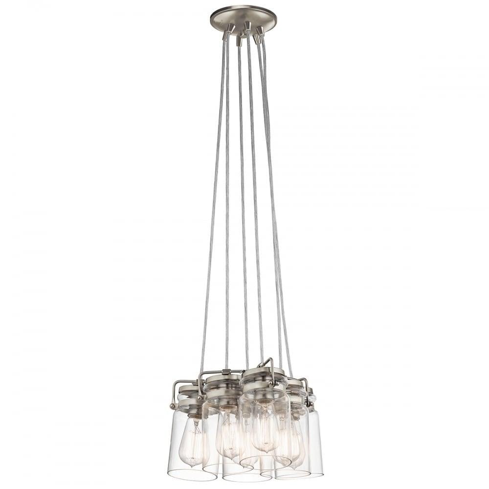 Kichler KL/BRINLEY6-NI Brinley 6 Light Ceiling Pendant