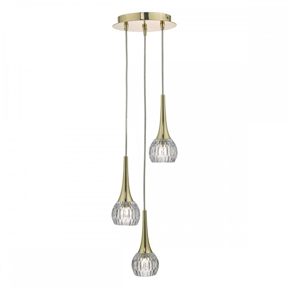 Lyall Cluster Ceiling Pendant By Dar