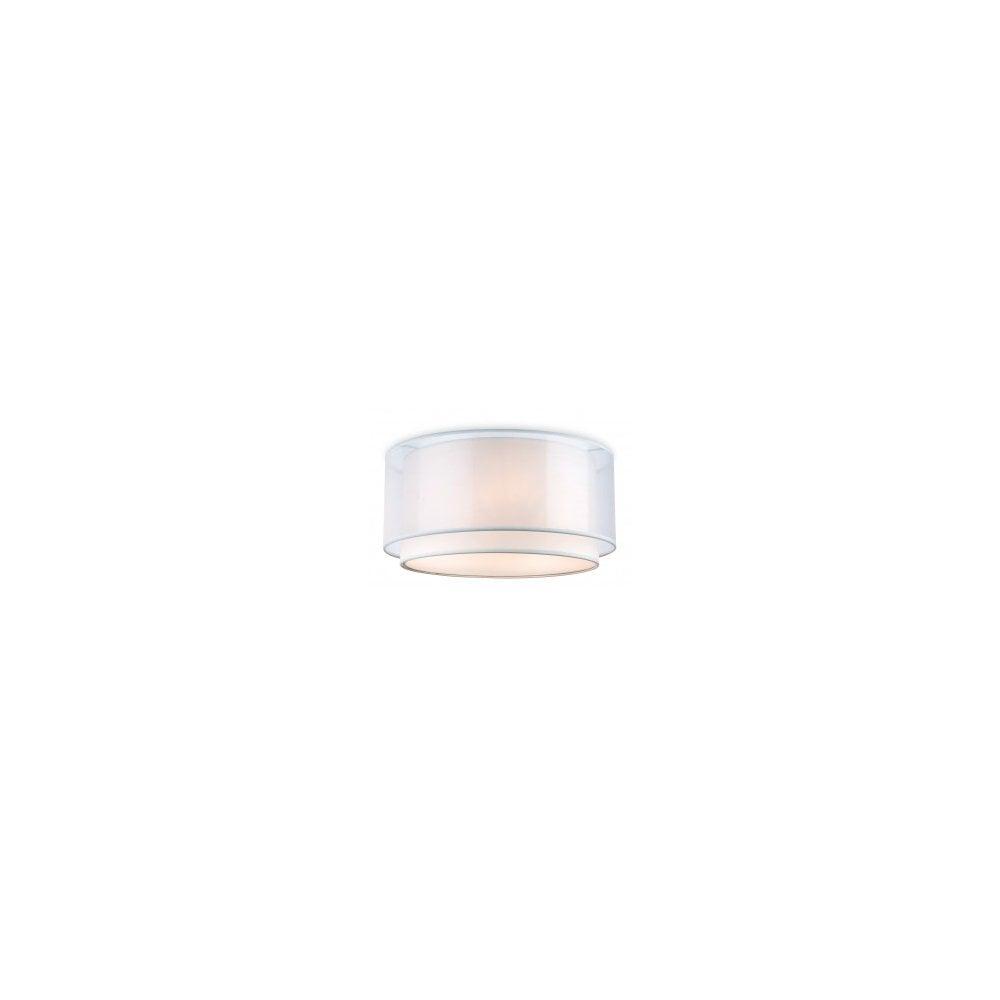 Chicago Lighting Company: 3 Light Flushed Ceiling Light Cream Firstlight 5914CR Chicago