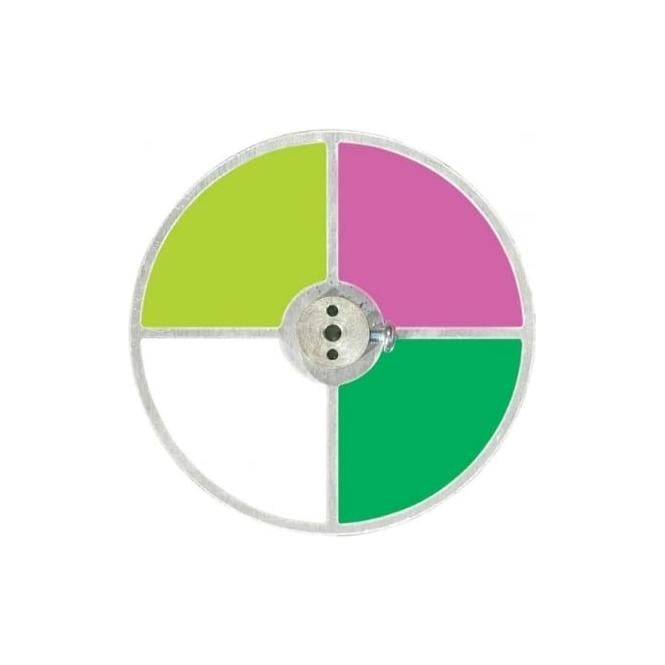 Unlimited light Colour Wheel CW4C 4 Segment metal colour wheel for 50, 75, 100 and 150 watt sources