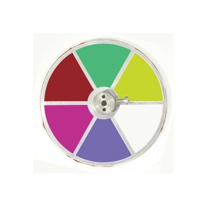Unlimited light Colour Wheel CW6C 6 Segment metal colour wheel for 50, 75, 100 and 150 watt sources