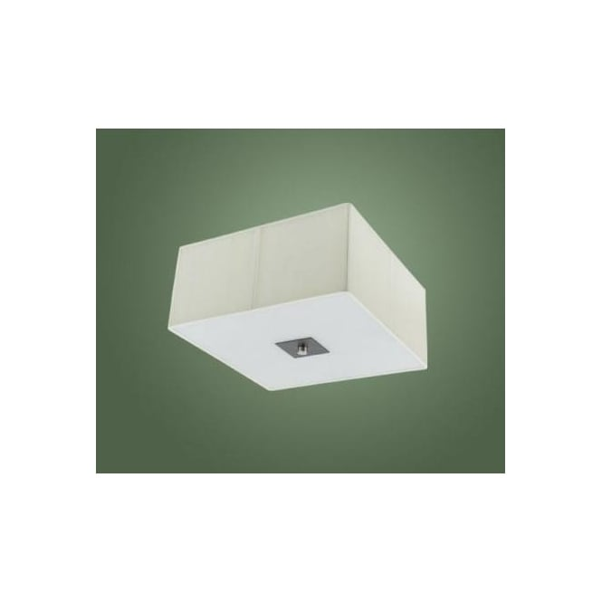 Eglo 89325 Tosca 2 light modern wall/ceiling light antique brown and aluminium finish