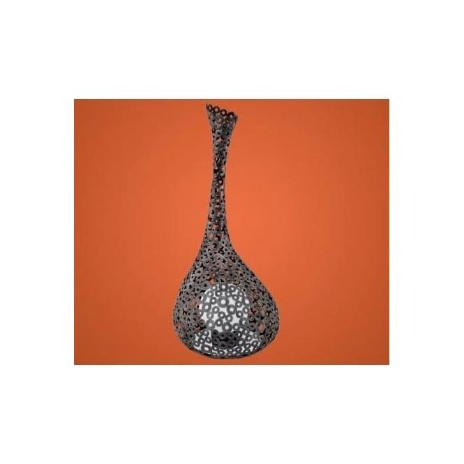 eglo eglo 91436 terreno 1 light modern outdoor floor lamp steel
