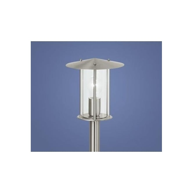 Eglo eglo 86864 dublin 1 light modern outdoor post lamp stainless 86864 dublin 1 light modern outdoor post lamp stainless steel finish ip44 rated aloadofball Image collections