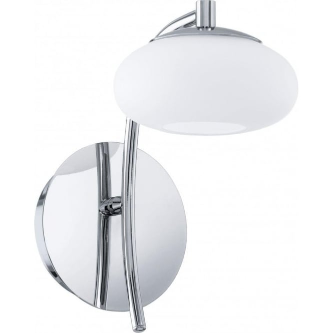 Eglo 91754 Aleandro 1 Light Wall Light Polished Chrome