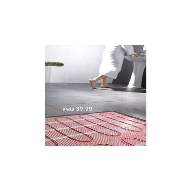 Ocean OUFH2 2.0m Electric Underfloor Heating Mat 150w/m2