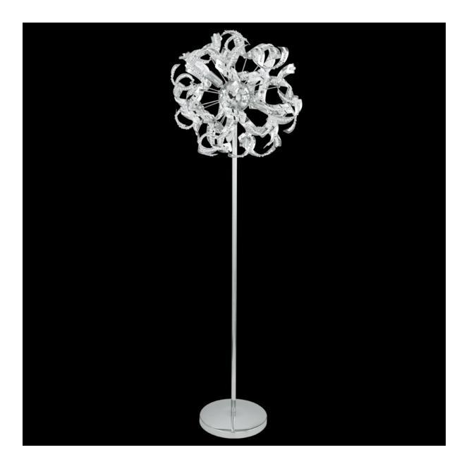 fine art lighting uk. 92041 laurenzo 4 light floor lamp polished chrome \u0026amp; clear crystal fine art lighting uk