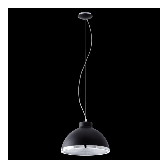 Eglo 92134 Debed 1 Light Pendant Black