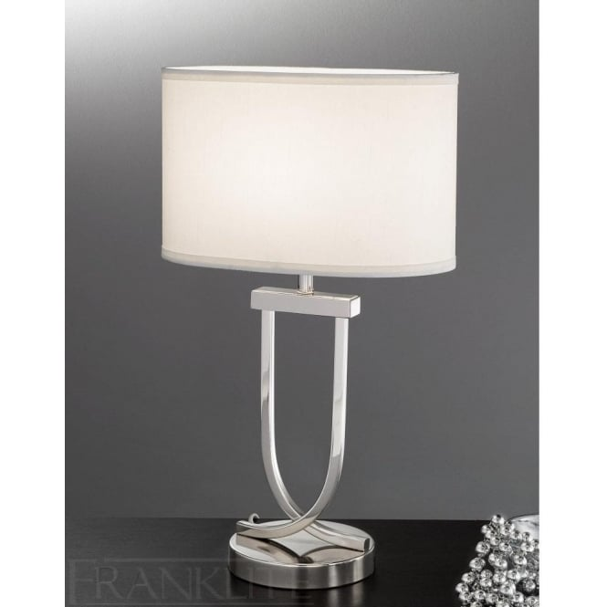 Franklite tl870 1 light table lamp polished chrome lamps online tl870 1 light table lamp polished chrome aloadofball Images