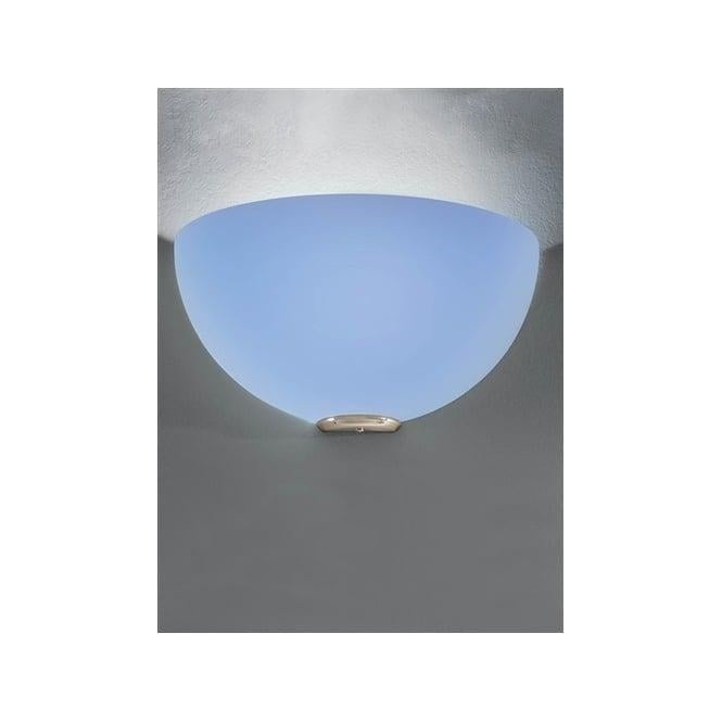 Franklite WB060/945 WB060EL/945 Vetross 1 Light Wall Light White/Blue