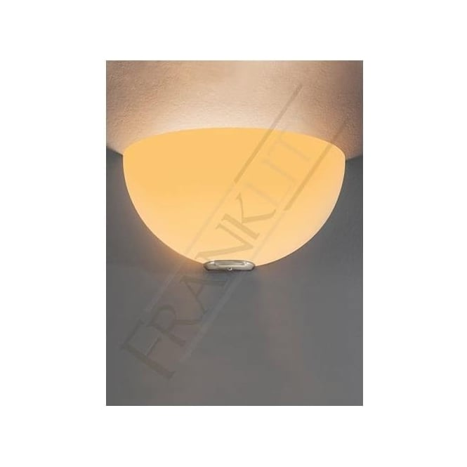 Franklite WB060/939 WB060EL/939 Vetross 1 Light Wall Light White/Orange