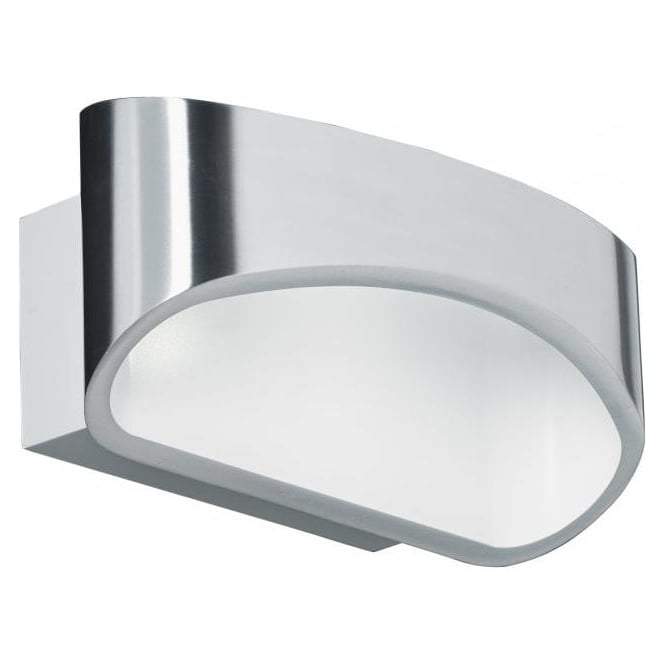 Endon JOHNSON-CH 1 Light Modern LED Wall Light Chrome