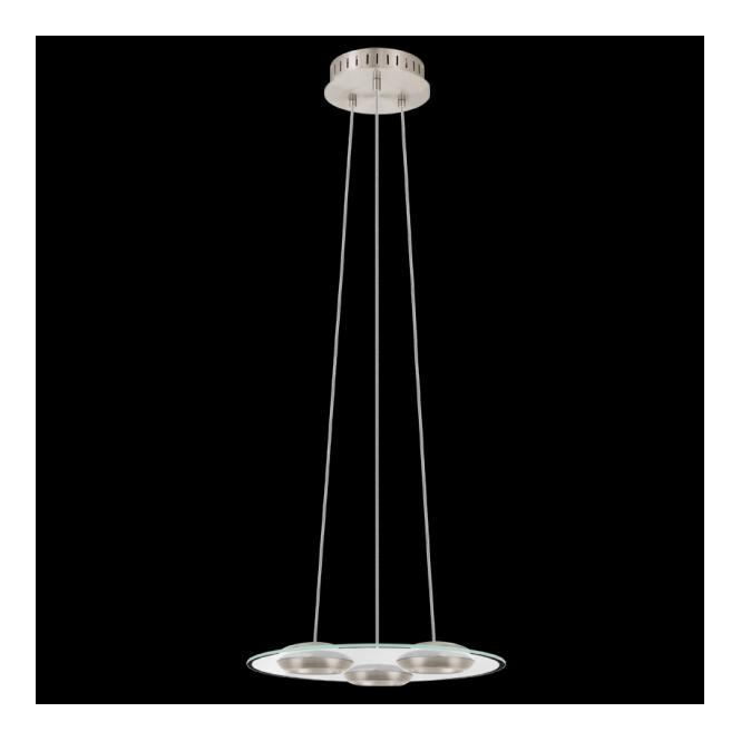 Eglo 90811 Bootes 3 Light LED Pendant Satin Nickel