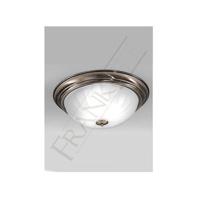 Franklite CF5644 3 Light Flush Ceiling Light Bronze