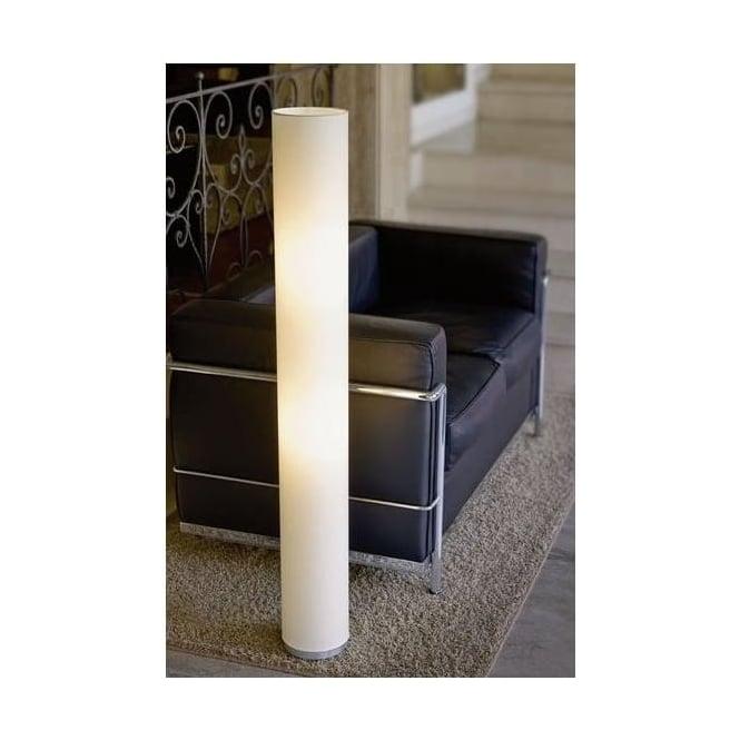 82807 Tube 2 Light Floor Lamp Aluminium