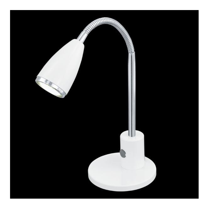 92872 eglo led table lamp white fox lamp. Black Bedroom Furniture Sets. Home Design Ideas