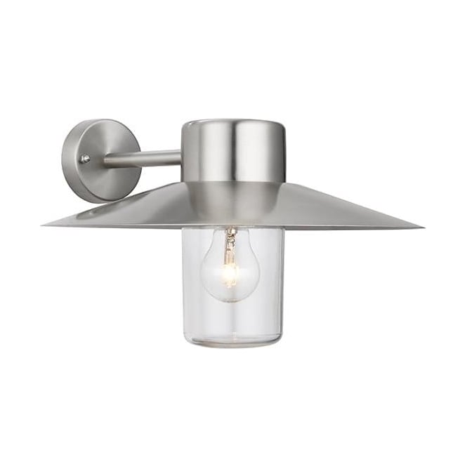Endon 60797 fenwick 1 light outdoor wall light polished stainless 60797 fenwick 1 light outdoor wall light polished stainless steel ip44 aloadofball Image collections