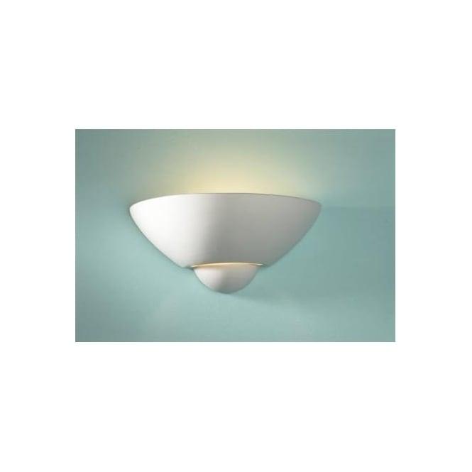 cd4de4482e5a Dar Dar VEC0748 Vector unglazed ceramic wall washer - Wall Lights ...