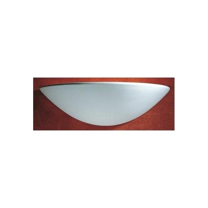 Unglazed Ceramic Wall Lights : Dar RAD0748 Radius 1 light modern wall light unglazed ceramic finish - Wall Lights from Ocean ...