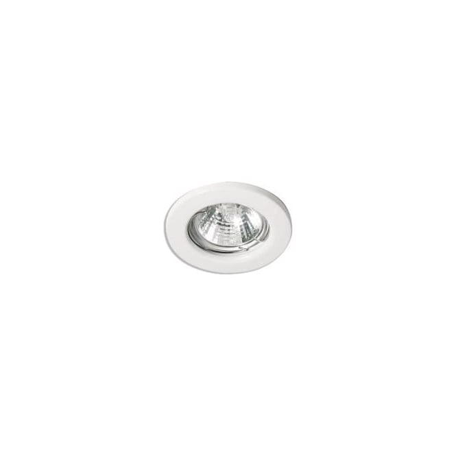 Aurora A2-DLL111 pressed steel downlight 12v low voltage MR16 fixed halogen downlight square edge
