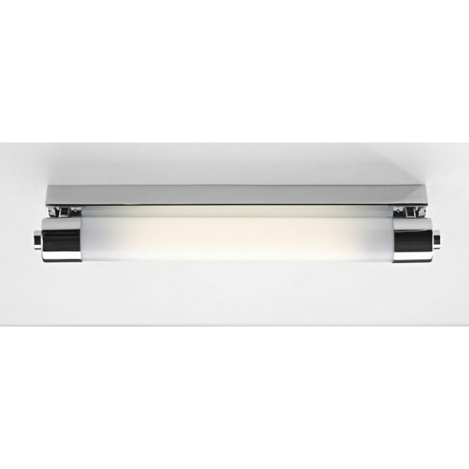 Dar PER0702 Perkins 1 light modern bathroom long striplight IP44 rated polished chrome finish small