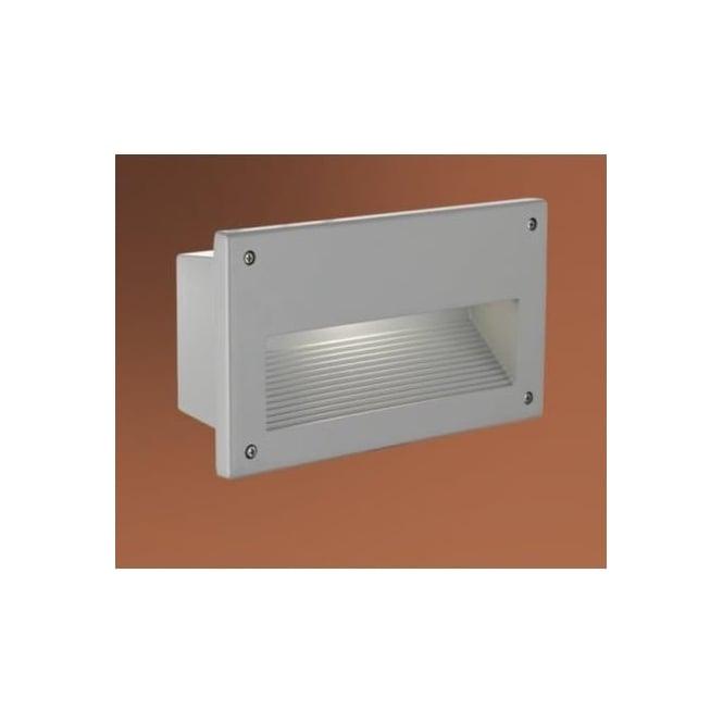 Eglo eglo 88575 zimba 1 light outdoor recessed wall light die cast 88575 zimba 1 light outdoor recessed wall light die cast aluminium ip44 rated workwithnaturefo