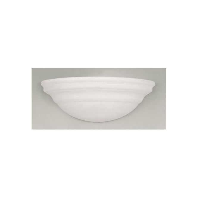 Endon UG-WB-C 1 Light Modern Wall Light Natural Unglazed Finish
