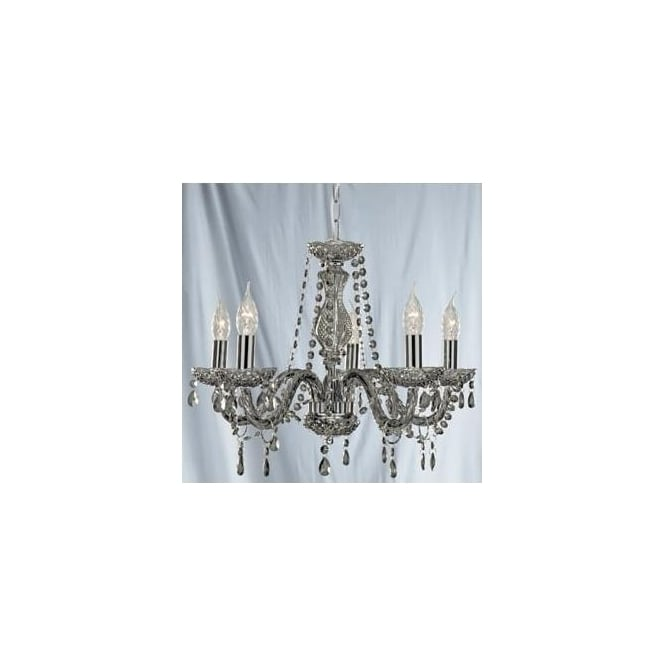 Chandeliers 8695 5GY Searchlight Indoor Lighting Marie