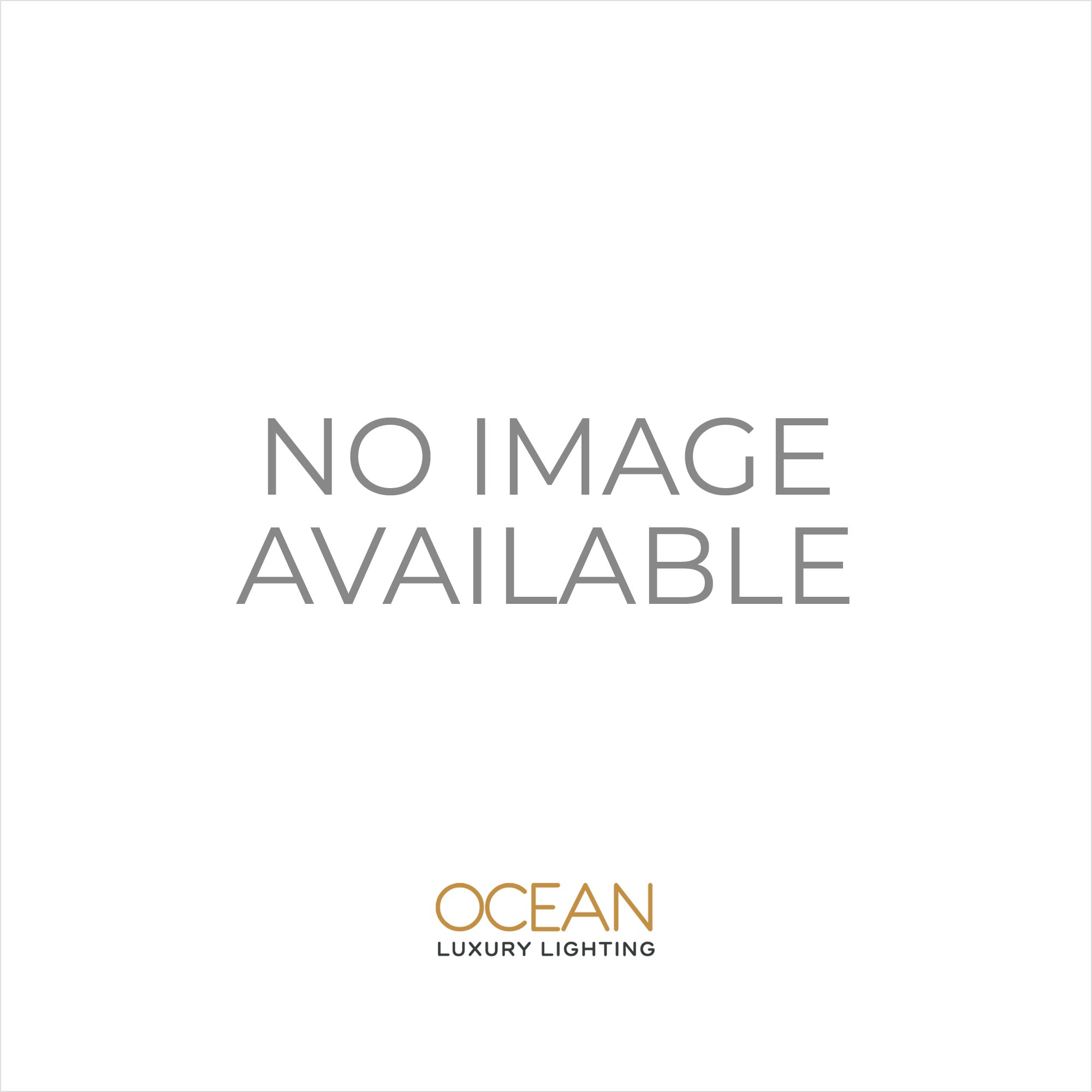 Searchlight 8940-86 Quadro 7 Light Crystal Ceiling Light Gold Plated Finish