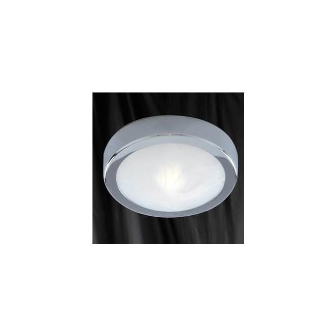 3109CC Bathroom Lights 1 Light Flush Ceiling Polished Chrome