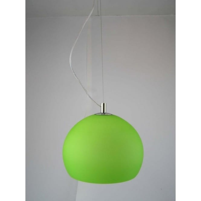 Green pendant lights lpendellime 1 light modern ceiling pendant lime and polished chrome finish aloadofball Image collections