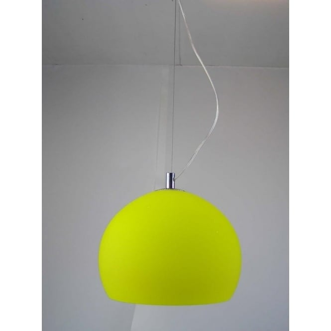 Retro Lighting Retro Lighting LPENDELYELLOW 1 Light Modern