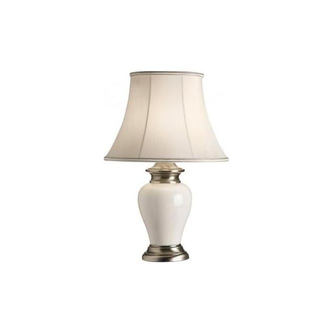 Dalston TLAB/Celia 12 Dalston 1 Light Traditional Table Lamp Antique Brass  And