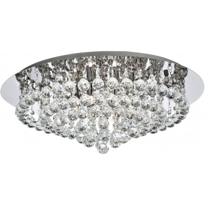 34088cc hanna 8 light semiflush ceiling light polished chrome