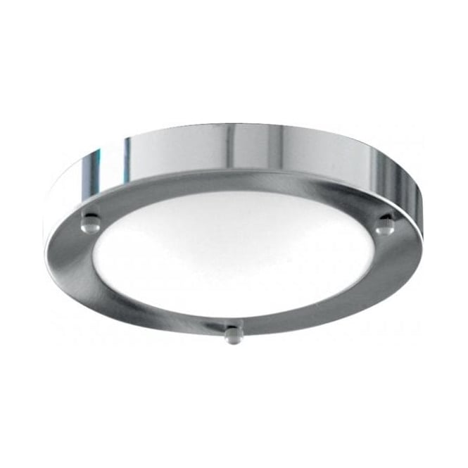 Searchlight 1131-31CC Bathroom Lights 1 Light Flush Ceiling Light Polished Chrome