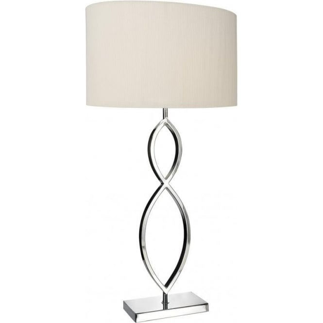 Dar lui4150 dar luigi modern table lamp chrome table lamp online lui4150 luigi 1 light table lamp polished chrome aloadofball Images