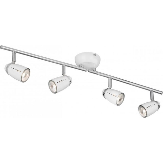 Searchlight 5764wh pluto 4 light polished chrome ceiling spotlight searchlight 5764wh pluto 4 light ceiling spotlight polished chrome white mozeypictures Images