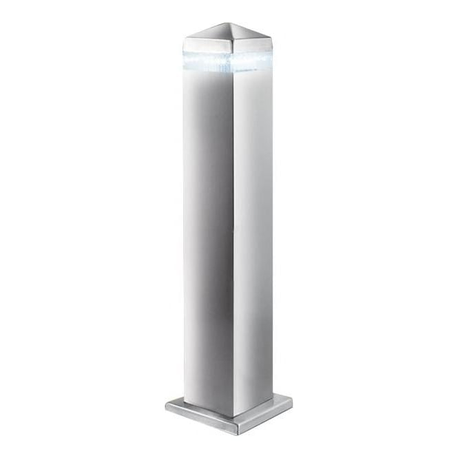 Searchlight 7202 450 outdoor led post lamp satin silver ip44 7202 450 led outdoor lights 16 light modern outdoor post lamp satin silver finish small mozeypictures Image collections
