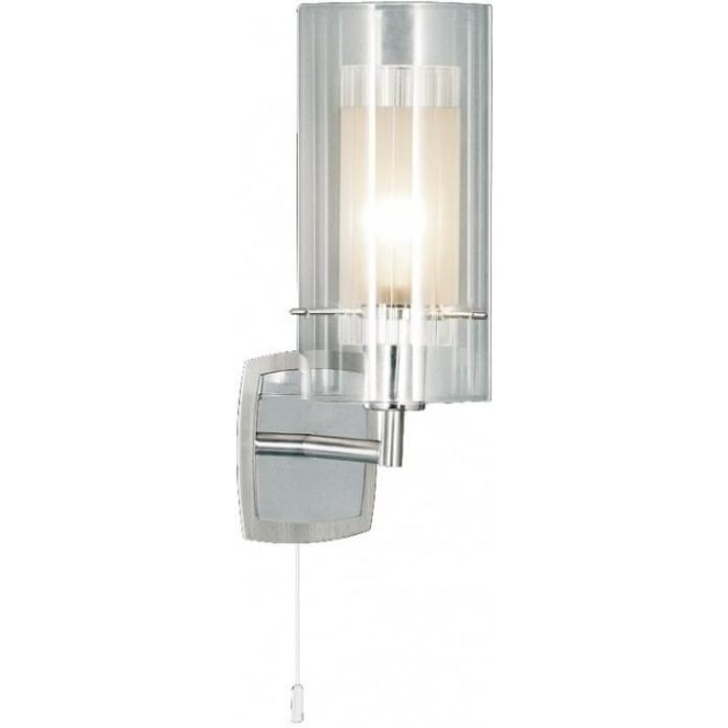 Searchlight 2300-1 Duo 1 1 Light Wall Light Polished Chrome