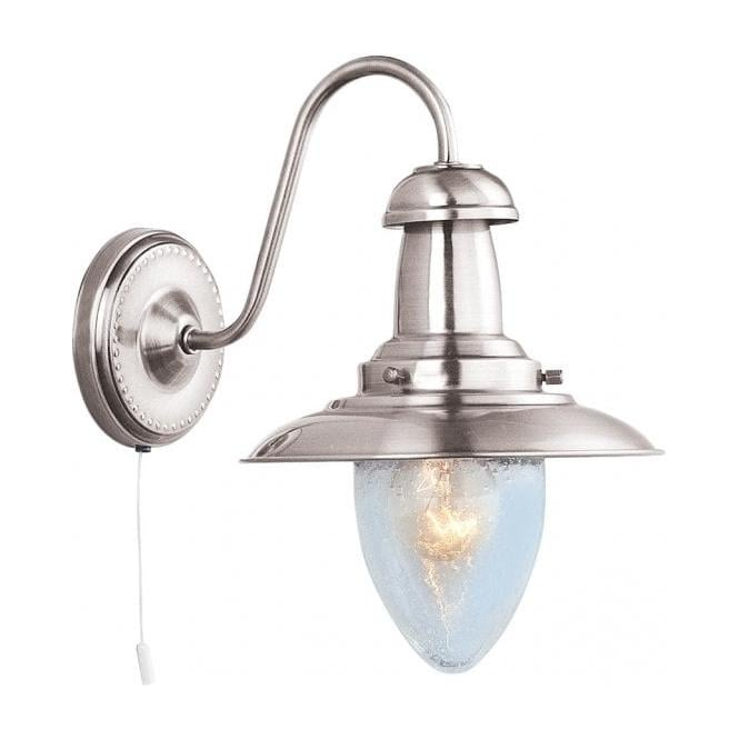 Searchlight 5331 1ss Fisherman 3 Light Satin Silver Wall