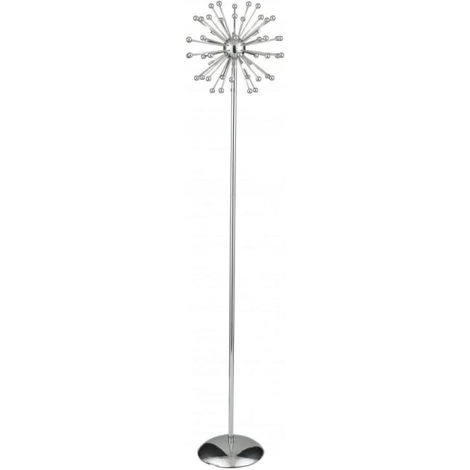 Searchlight 6998CC Cosmic 6 Light Floor Lamp Polished Chrome