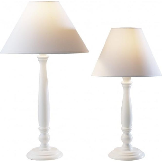 Table lamps table lights ocean lighting reg422 reg432 regal 1 light table lamp white aloadofball Choice Image