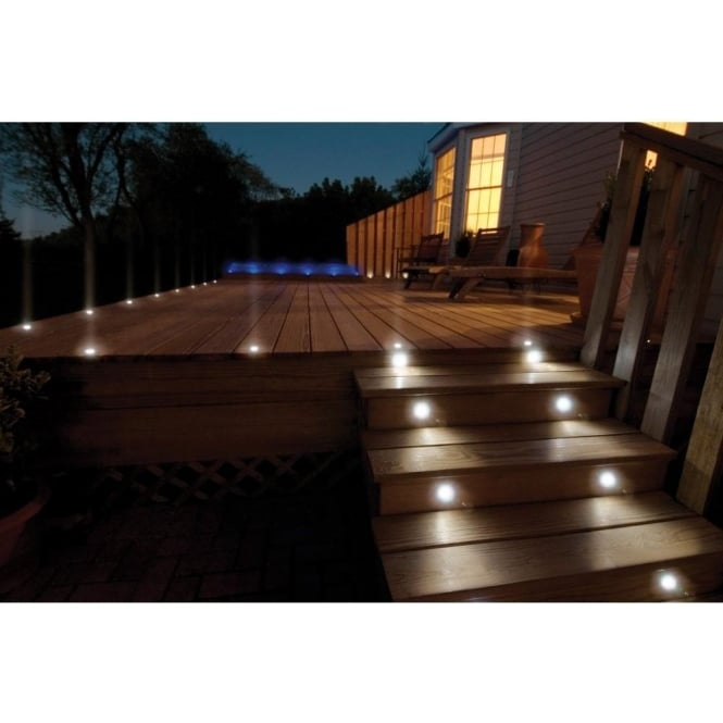 Sealrange SD30 LED Decking Walkover Plinth Lights IP68 10 Pack