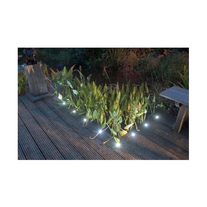Sealrange SD60 Round 60mm LED Decking Walkover Plinth Lights IP66 10 Pack