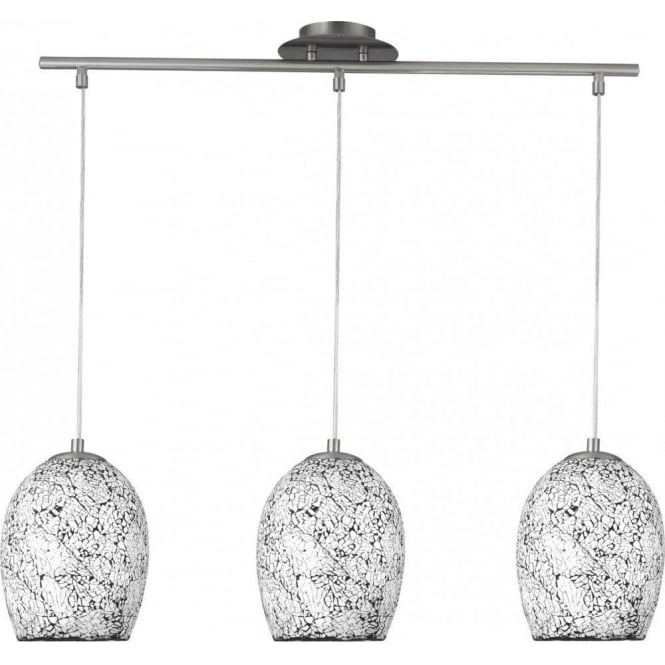 Searchlight 8069 3wh Crackle 3 Light Ceiling Pendant