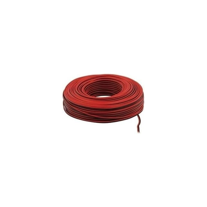 Ocean LSP-010LC-100 Red Black Sheath Speaker Cable 2 x 0.35mm (100m)